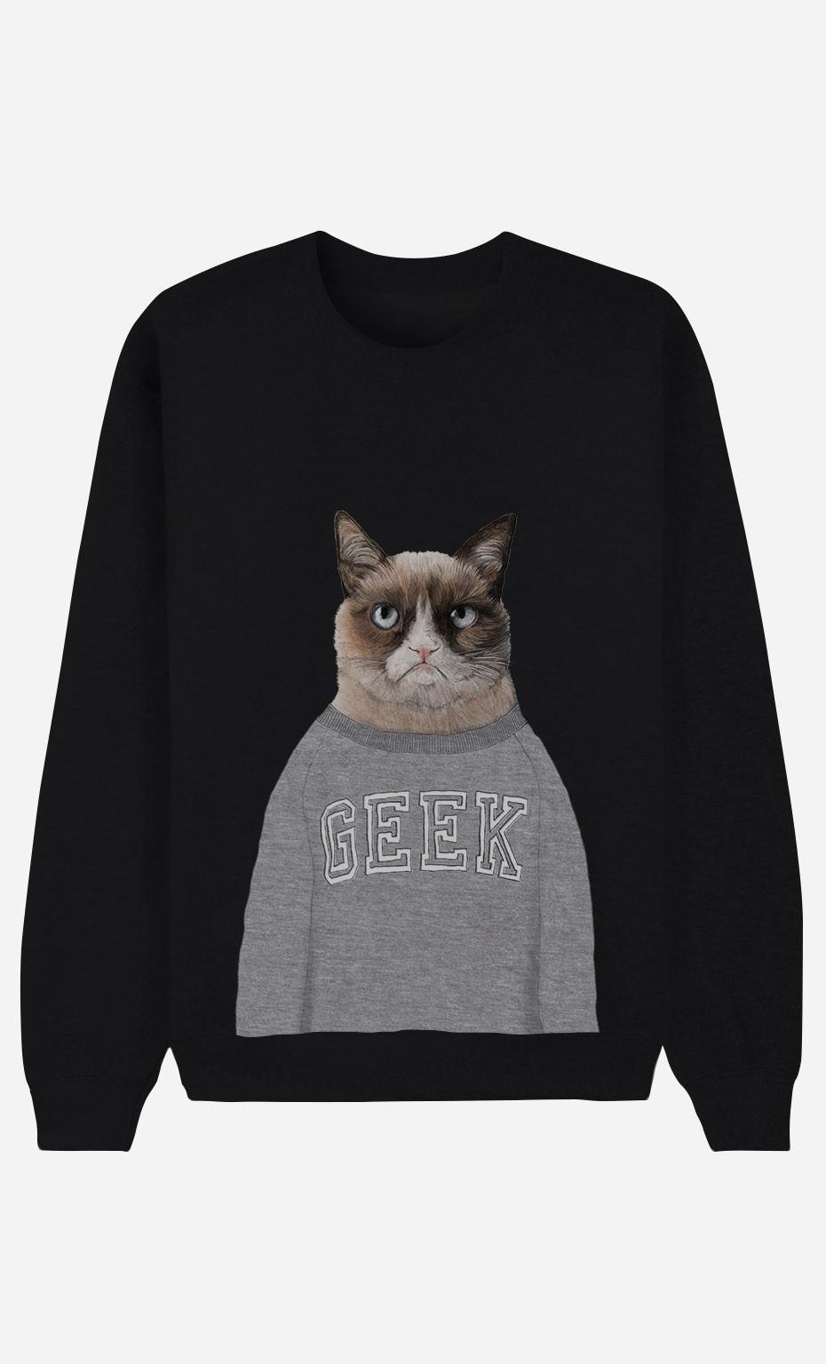 Sweat Femme Grumpy Cat