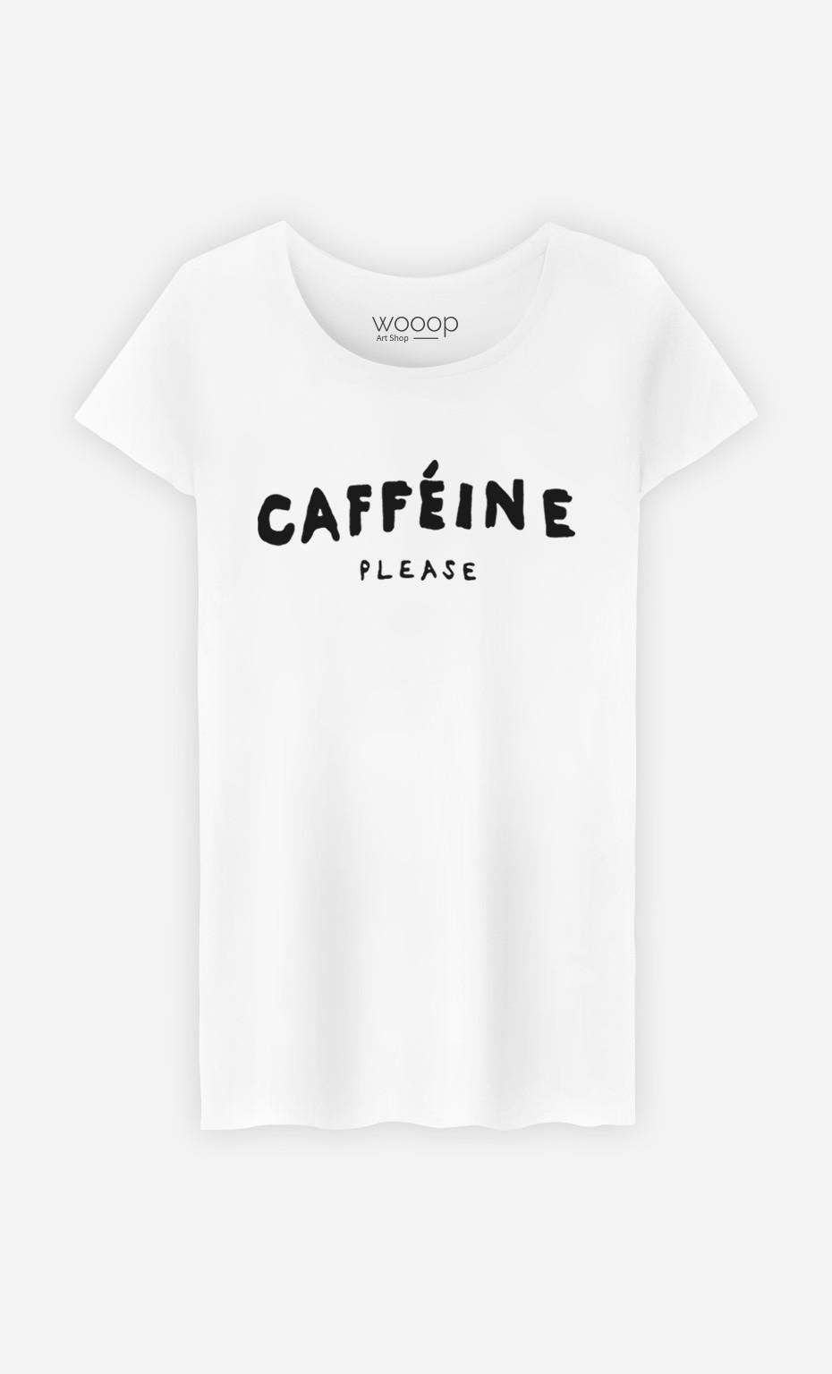 T-Shirt Femme Caffeine Please