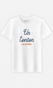 T-Shirt Homme Un Tonton Qui Déchire