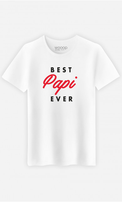 T-Shirt Homme Best Papi Ever