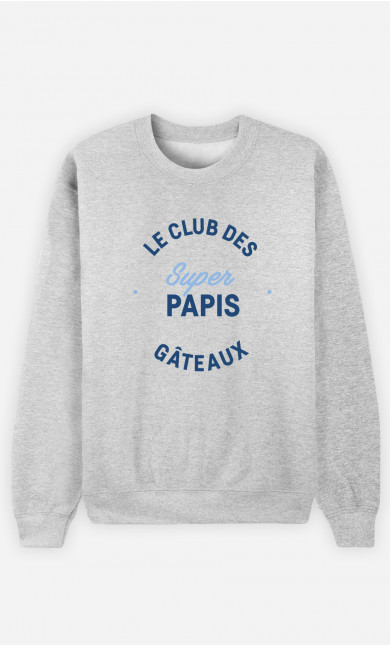 Sweat Homme Club Des Super Papis