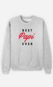 Sweat Homme Best Papi Ever