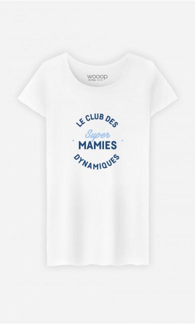 T-Shirt Femme Club Des Super Mamies