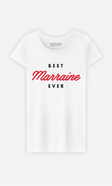 T-Shirt Femme Best Marraine Ever