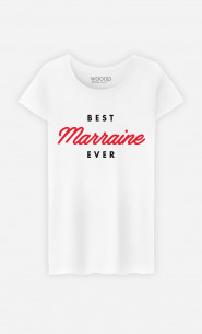 T-Shirt Femme Best Marraine Ever