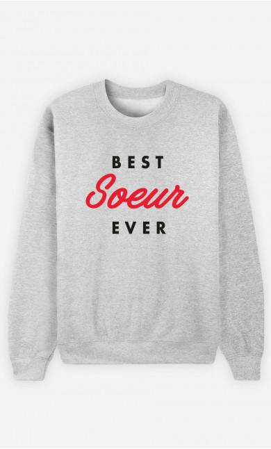 Sweat Femme Best Sœur Ever