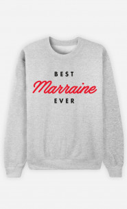 Sweat Femme Best Marraine Ever