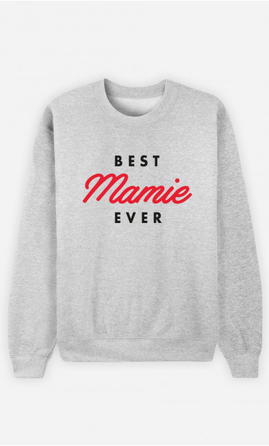 Sweat Femme Best Mamie Ever