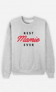 Sweat Femme Best Mamie Ever