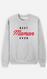 Sweat Femme Best Maman Ever