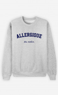 Sweat Homme Allergique Au Matin
