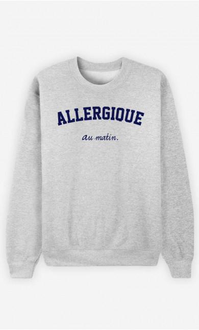 Sweat Femme Allergique Au Matin