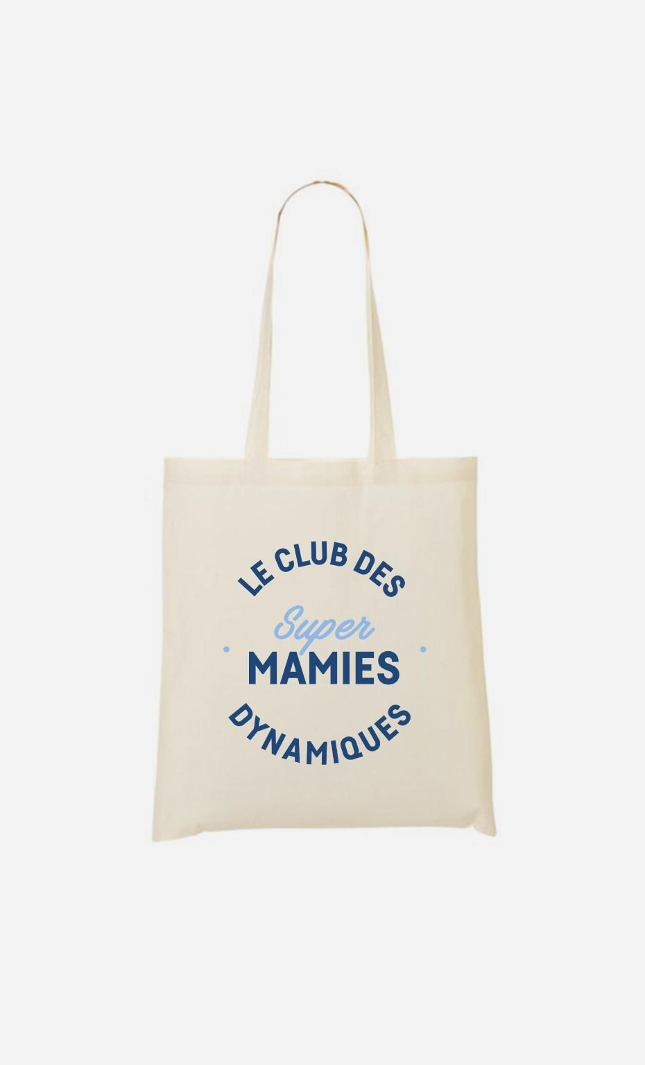 Tote Bag Club Des Super Mamies