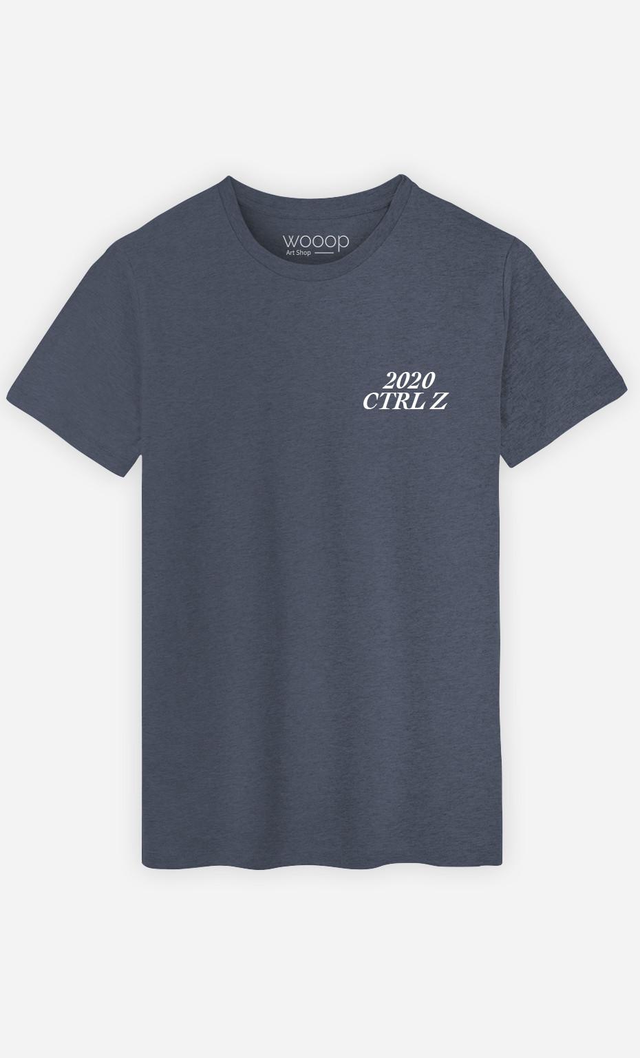 T-Shirt Homme 2020 CTRL Z