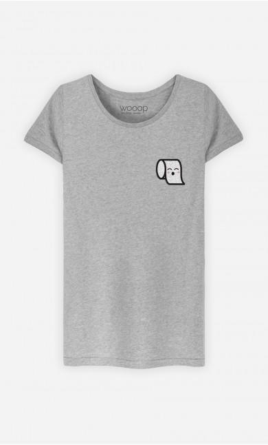 T-Shirt Femme Paper Fever - Brodé