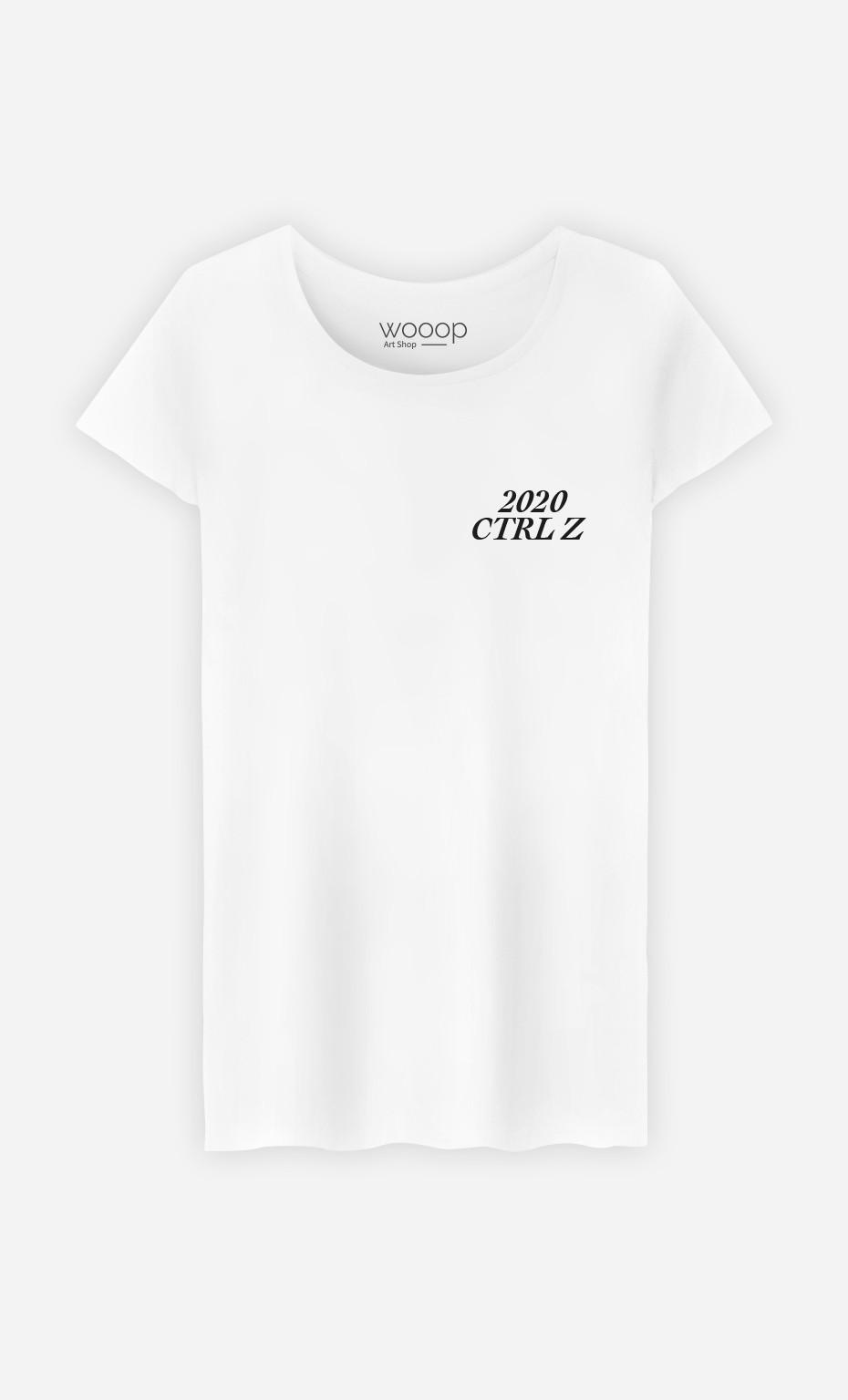 T-Shirt Femme 2020 CTRL Z