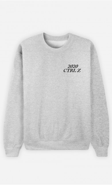 Sweat Homme 2020 CTRL Z