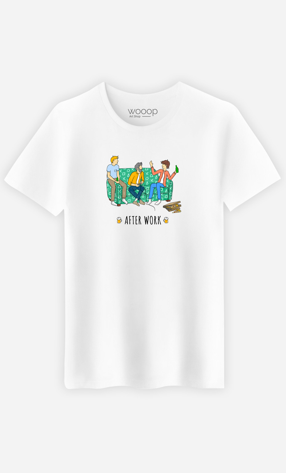 T-Shirt Homme After Work