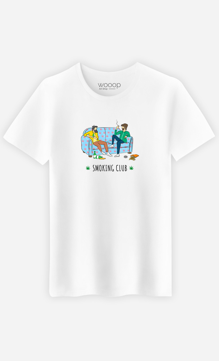 T-Shirt Homme Smoking Club