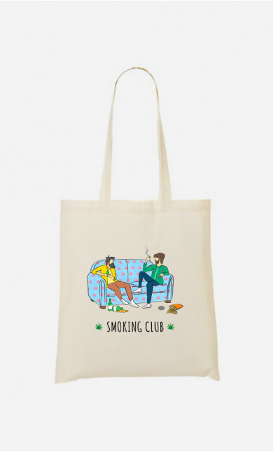 Tote Bag Smoking Club