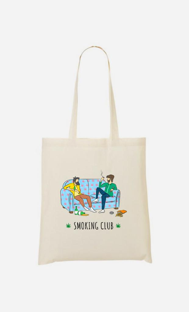 Tote Bag Smoking Club