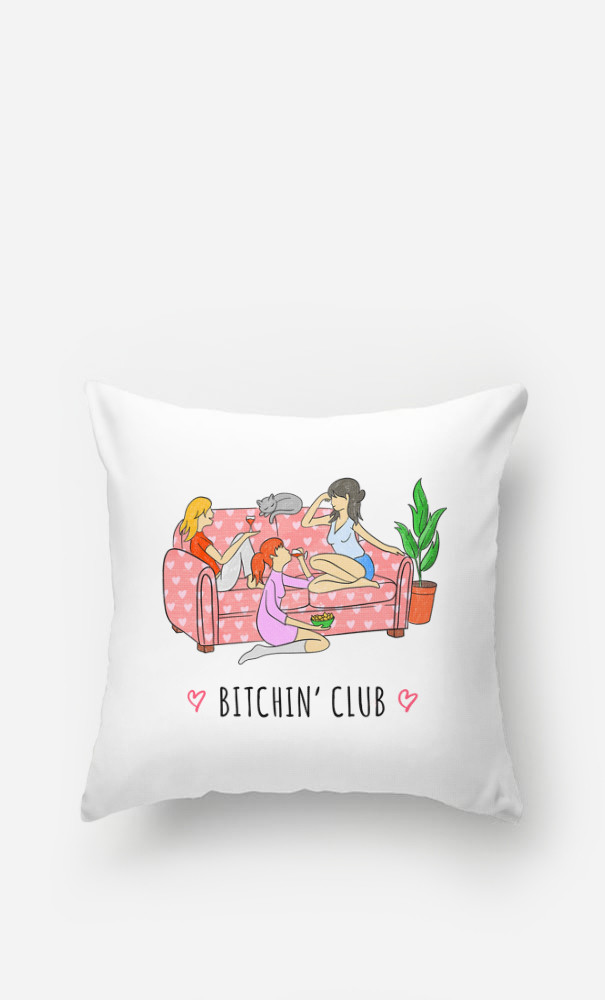 Coussin Bitchin' Club