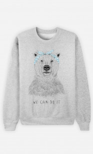 Sweat Homme We Can Do It