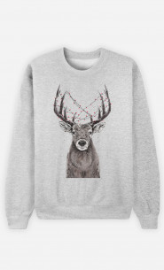 Sweat Homme Christmas Deer