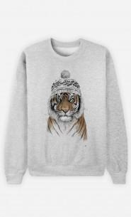 Sweat Femme Siberian Tiger