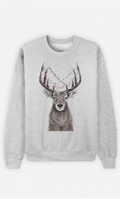 Sweat Femme Christmas Deer