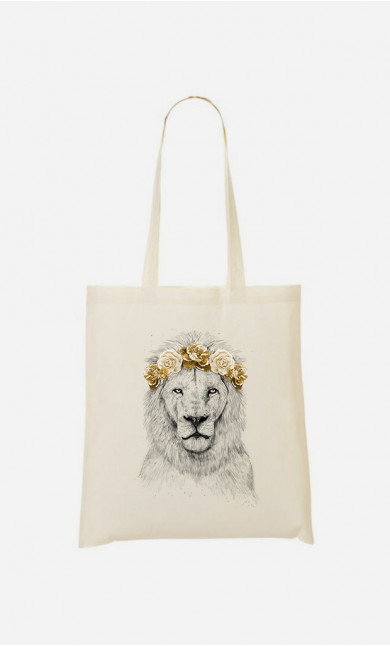 Tote Bag Festival Lion Autumn