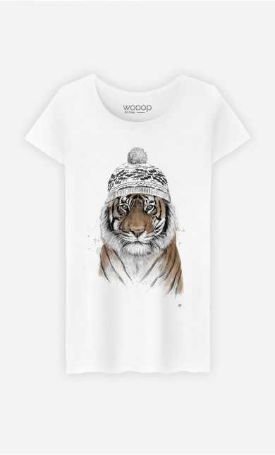 T-Shirt Femme Siberian Tiger
