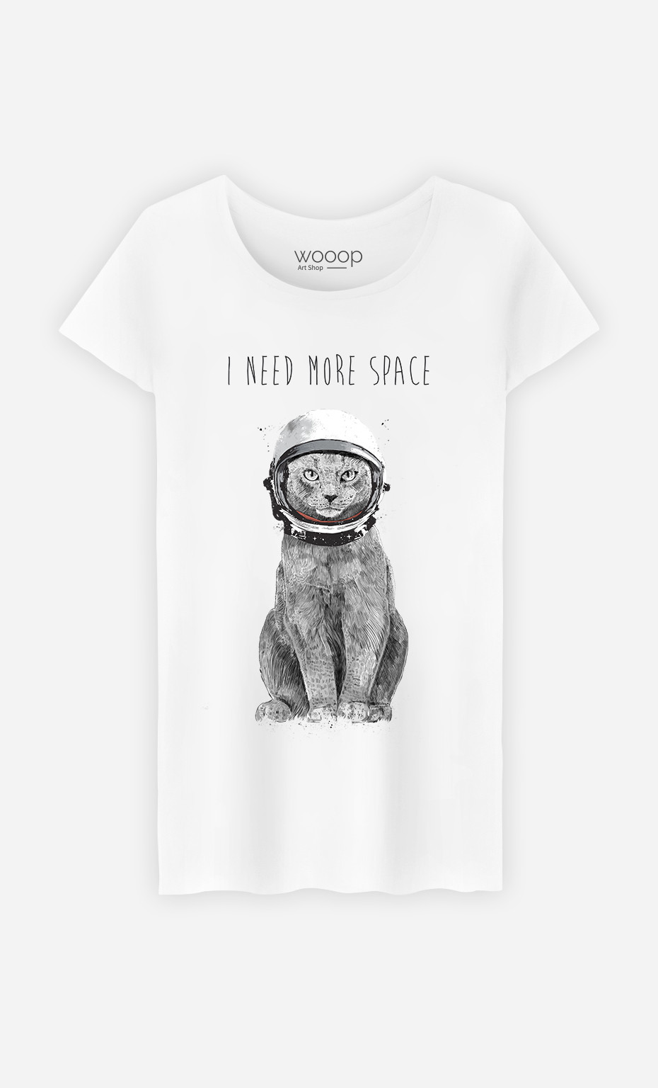 T-Shirt Femme I Need More Space