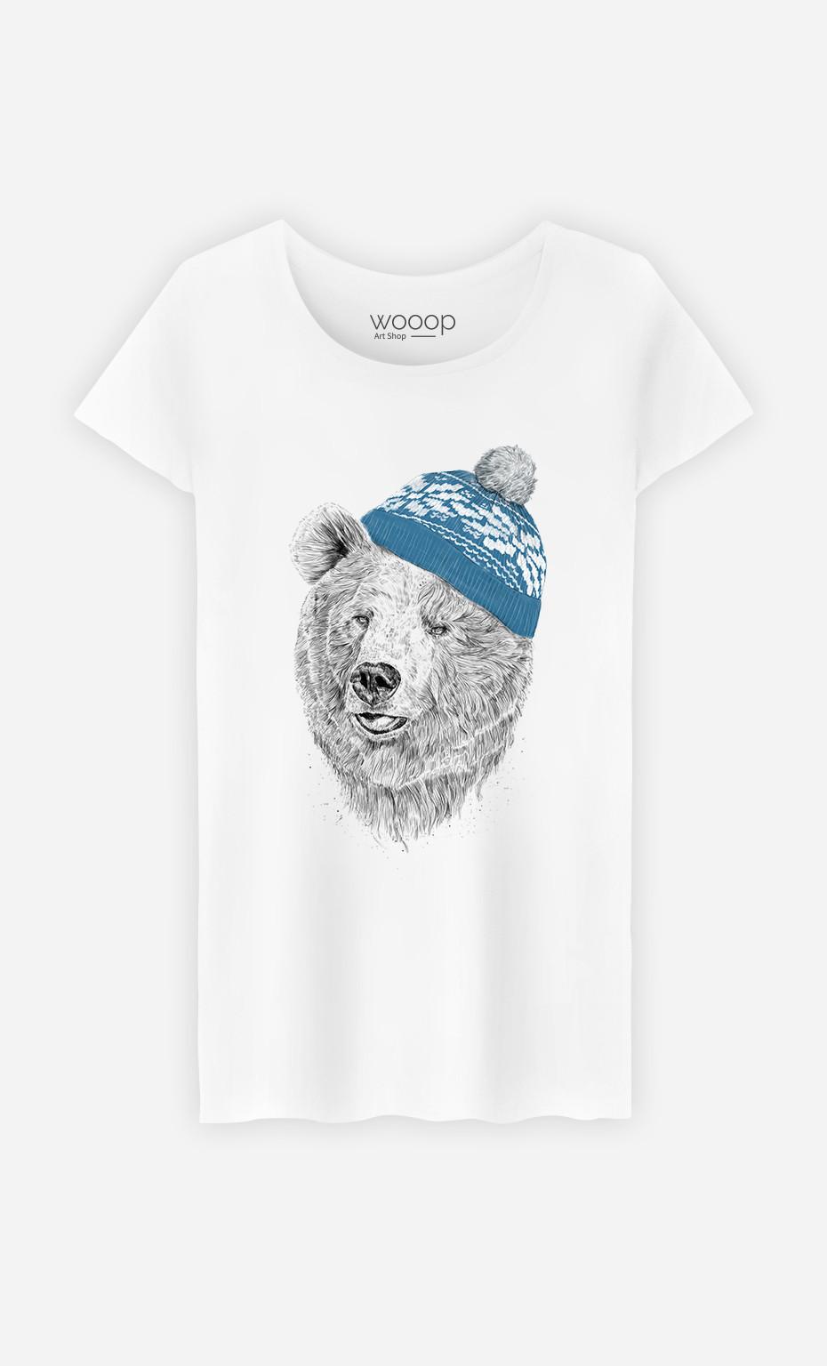 T-Shirt Femme Hello Winter