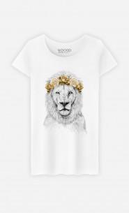 T-Shirt Femme Festival Lion Autumn