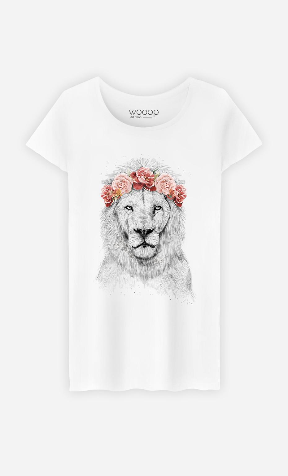 T-Shirt Femme Festival Lion Spring