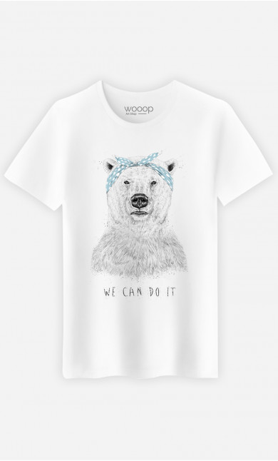 T-Shirt Homme We Can Do It