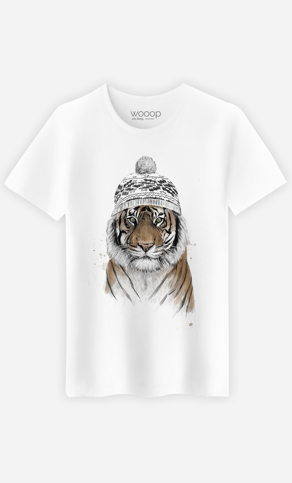 T-Shirt Homme Siberian Tiger