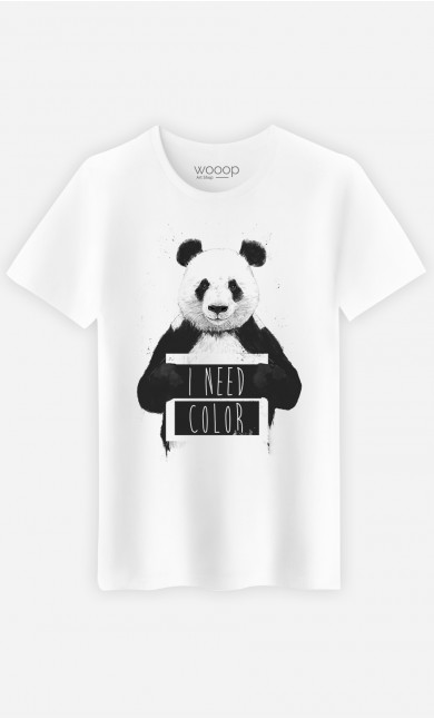 T-Shirt Homme I Need Color