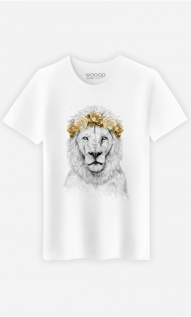 T-Shirt Homme Festival Lion Autumn