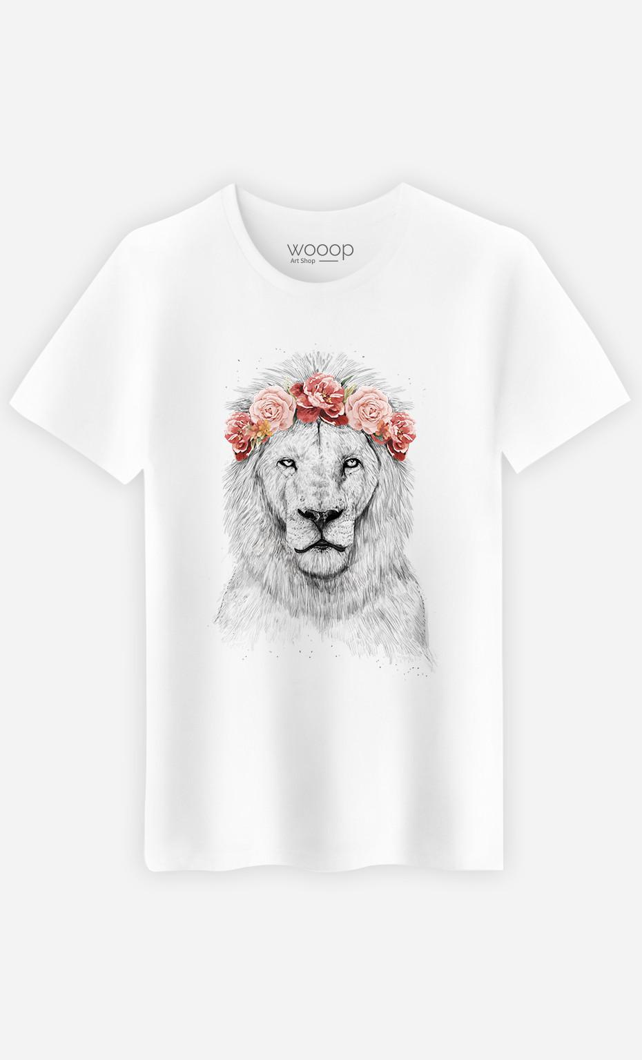 T-Shirt Homme Festival Lion Spring