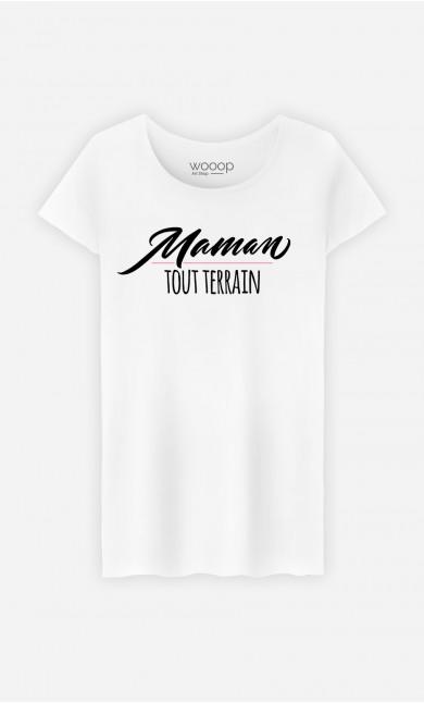 T-Shirt Femme Maman Tout Terrain