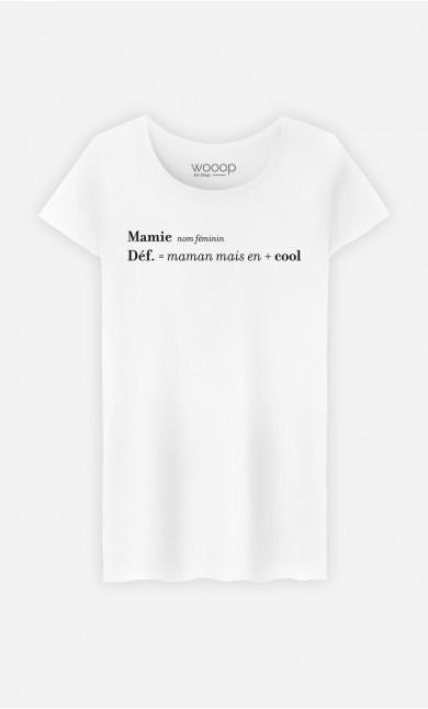 T-Shirt Femme Mamie : Maman Mais En + Cool
