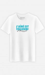 T-Shirt Homme L'Aîné Est Toujours Un Brouillon