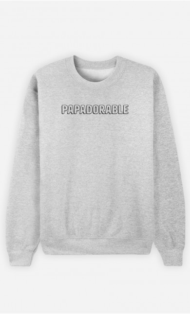 Sweat Homme Papadorable