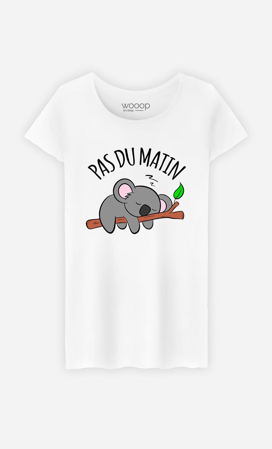 T-Shirt Femme Pas du Matin
