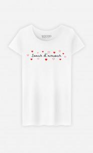 T-Shirt Femme Sœur d'Amour