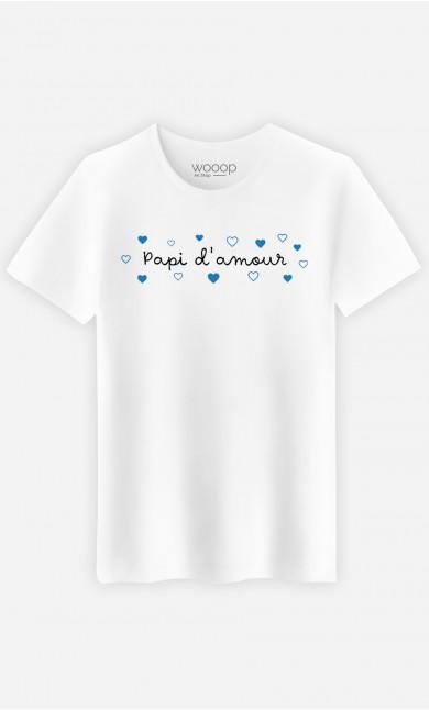 T-Shirt Homme Papi d'Amour
