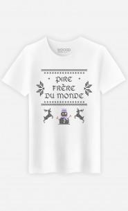 T-Shirt Homme Pire Frère du Monde