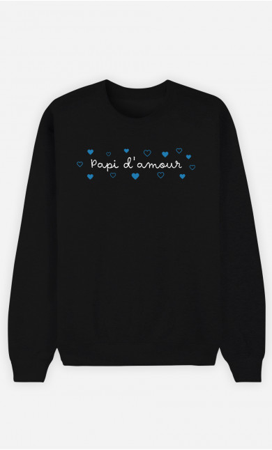 Sweat Homme Papi d'Amour